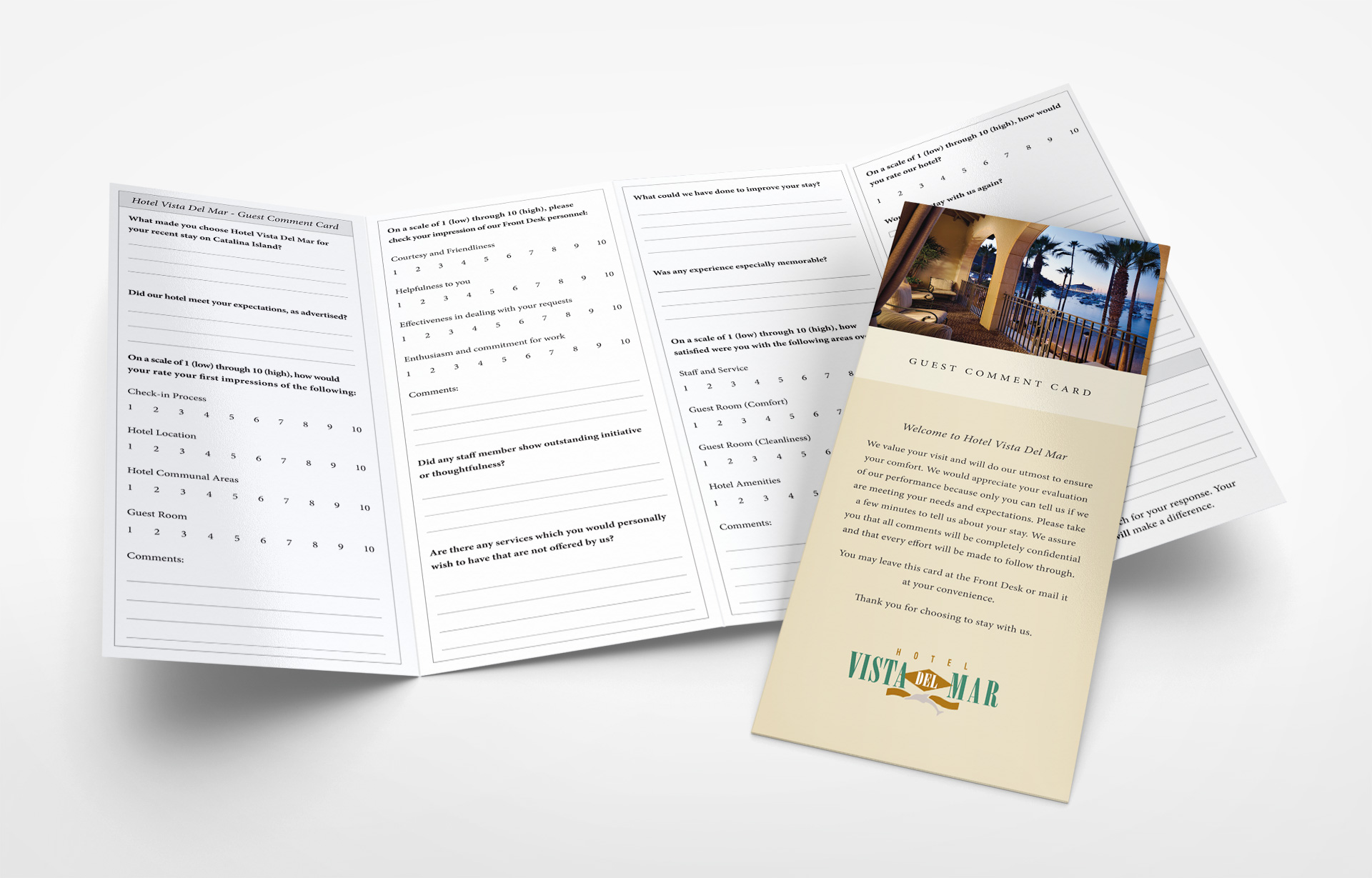 Hotel Guest Questionnaire